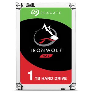 SEAGATE Ironwolf 1TB 3.5'' NAS HDD 5900rpm 64MB Cache (ST1000VN002)