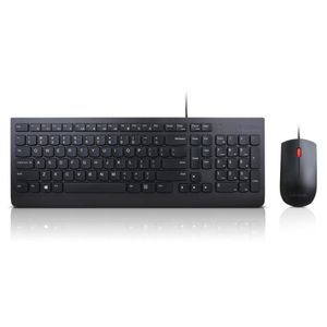 LENOVO Essential Wired Keyboard and Mouse Combo - US English (4X30L79883)