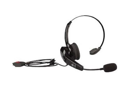 ZEBRA HS2100 RUGGED WIRED HEADSET (OVER-THE-HEAD HEADBAND) (HS2100-OTH)