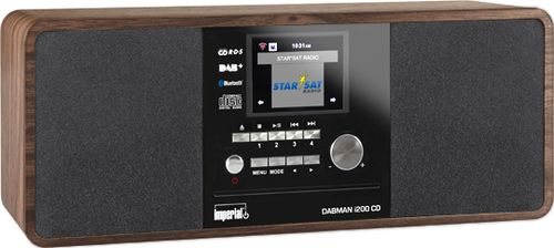 IMPERIAL Dabman i200 CD Wood (22-235-00)