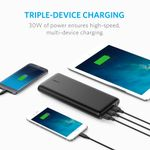 ANKER PowerCore 26800 Black (A1277H11)