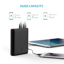 ANKER PowerCore 10400 Powerbank - Sort - 10400 mAh (A1214G11)