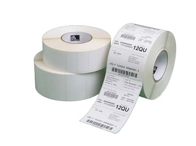 ZEBRA LABEL, PAPER, 102X51MM, DIRECT THERMAL, Z-PERFORM 1000D, UNCOATED, PERMANENT ADHESIVE, 19MM CORE, BLACK SENSING MARK (3012912-T)