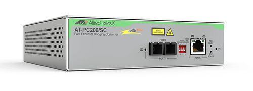 Allied Telesis 2PORT FAST ETHERNE SW 100TX POE 100FX MULTI-REGION POWER ADAPTER IN CPNT (AT-PC200/SC-60)