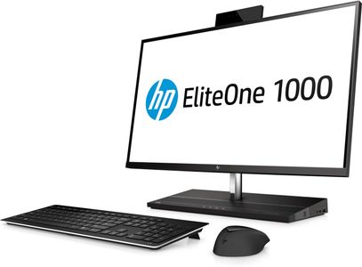 HP EliteOne 1000 G1 AiO NT 27inch i5-7500 8GB 256GB SSD W10p64 3yw Speakers Wlan AC IR + 2MP Dual Webcam Fingerprint Scanner(ML) (2LT96EA#UUW)