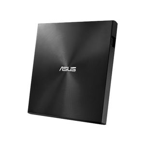 ASUS External DRW SDRW-08U9M-U,  USB Type-C and Type-A, Ultra-Slim,  Black (SDRW-08U9M-U/BLK/G/AS)