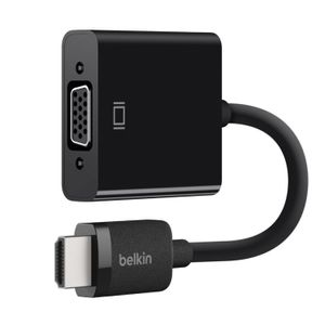 BELKIN HDMI/VGA Adapter black w. (AV10170BT)