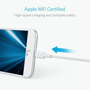 ANKER PowerLine II with lightning F-FEEDS (A8433H21)