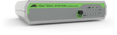Allied Telesis 5-P 10/100TX EXT PSU M-REGION UNMANAGED SWITCH 990-005842-60   IN PERP (AT-FS710/5E-60)