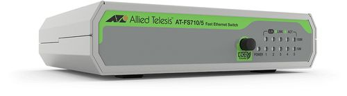 Allied Telesis 5-P 10/100TX INT PSU EU POWER UNMANAGED SWITCH 990-005843-50   IN PERP (AT-FS710/5-50)