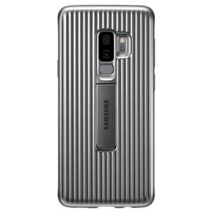 SAMSUNG Protective Standing Cover S9+ - Silver (EF-RG965CSEGWW)