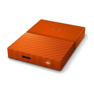 WESTERN DIGITAL HDD EXT My Passport 2TB Orange 7mm SLIM (WDBS4B0020BOR-EEEX)