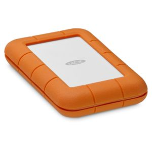 LACIE RUGGED Secure 2TB USB-C USB3.1 Drop- crush- and rain-resistant for all-terrain use orange (STFR2000403)