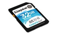 KINGSTON 32GB SDHC Canvas Go 90R/45W CL10 U3 V30 (SDG/32GB)