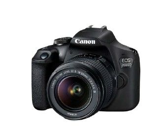 CANON CAMERA EOS 2000D 18-55 IS II (2728C003)