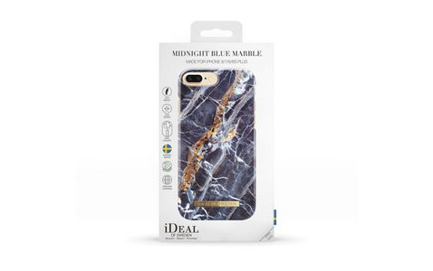 iDEAL OF SWEDEN CASE IPHONE 6/6S 7/7S PLUS MIDNIGHT BLUE MARBLE (IDFCS17-I7P-66)