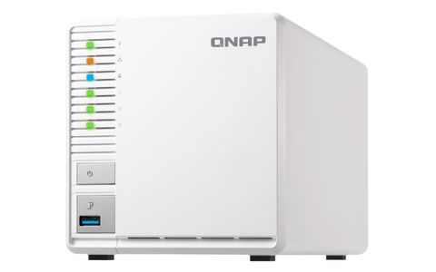 QNAP - Ts-328 3-Bay All In One Nas Server (No Disk) 0TB