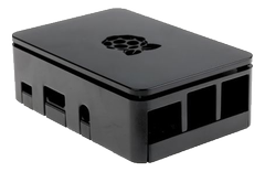 DESIGNSPARK Raspberry Pi case, for 3 Model B / 3 B+ / Pi 2, black