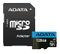 A-DATA 128GB MicroSDXC card with SD Adapter, UHS-I, Class 10, A1, blue