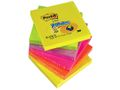 POST-IT Notes POST-IT Z-block 76x76mm rainbow