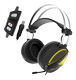 GAMDIAS HEBE M1, gaming headset, 7.1 virtual, RGB