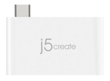 J5 CREATE USB 3.1 Type-C Charging Bridge, USB 3.1, SuperSpeed,  white