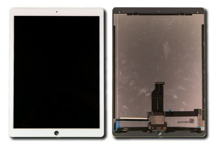 CoreParts LCD+Glass - White (TABX-IPRO12-WF-LCDDIG1)