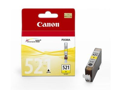 Canon CLI-521Y yellow ink cartridge (2936B001/CLI-521Y)