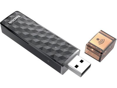 SANDISK CONNECT WRLS STICK 32GB USB FOR APPLE ANDROID PC & MAC EXT (SDWS4-032G-G46)