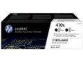 HP TONER CARTRIDGE 410X BLACK DUAL PACK