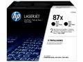 HP TONER CARTRIDGE 87X BLACK DUAL PACK