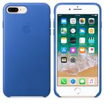 APPLE iPhone 8 Plus/7 Plus Leather Case Blue (MRG92ZM/A)
