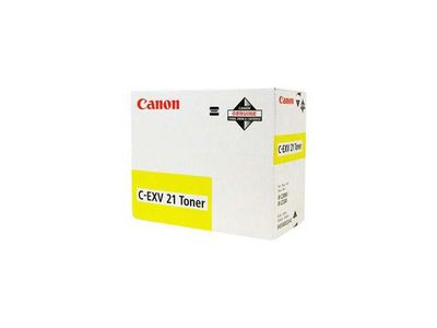 CANON C-EXV 21 toner cartridge yellow standard capacity 14.000 pages 1-pack (0455B002)