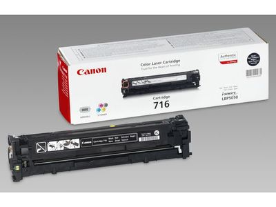CANON 716 toner cartridge black standard capacity 2.300 pages 1-pack (1980B002)