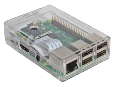 RASPBERRY PI case, B+ / 2 / 3 / 3 B+, clear