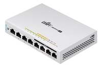 UBIQUITI UnifiSwitch 8 GE ports PoE 60W 4 ports 5-Pack with PoE (US-8-60W-5P)