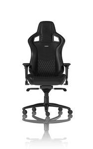 Noblechairs EPIC Real Leather - Black Gamer Stol - Sort - Læder - Op til 120 kg (NBL-RL-BLA-001)