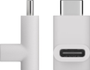 MICROCONNECT USB-C to USB-C Adapter, White
