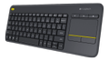 LOGITECH Wireless Touch Keyboard K400 Plus Nordisk (sv/ no/ fi/ dk)