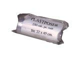POLYNOVA Plastpose LD på rull 220x450mm klar