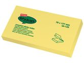 Notes STAPLES Recycl Sticky 76x127mm gul / STAPLES (FT510122946*12)