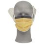 _ Ansigtsmaske, Tecnol, orange, PP/PE/spandex, ultrasonic, usteril, engangs