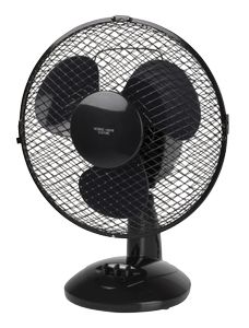 Nordic Home Culture Bord ventilator,  230mm, to hastigheder,  20W (FT-535)