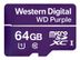 WESTERN DIGITAL WD PURPLE MIRCOSD 64GB 2YEARS WARRANTY