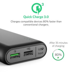 ANKER PowerCore 20000 with Quick (A1272G11)