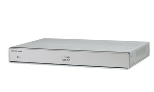 CISCO ISR 1100 4 PORTS DUAL GE WAN ETHERNET ROUTER                  IN CTLR (C1111-4P)