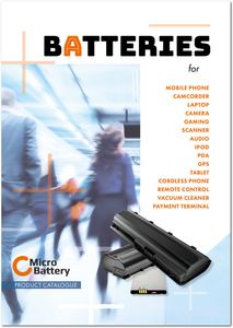 PUBLICATION MicroBattery Catalogue 2018 (CAT-MB-2018)