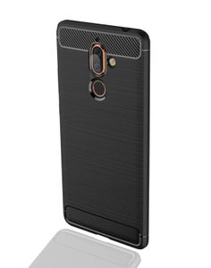INSMAT BACKCOVER/ CARBON_STEEL NOKIA 7 PLUS (650-1728)