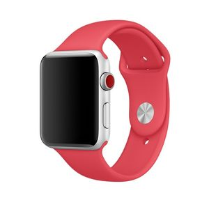 APPLE IWATCH42MM SPORT BAND RED RASPBERRY S/M & M/L ACCS (MRGW2ZM/A)
