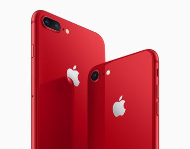 APPLE Iphone 8 Plus 64GB - Red Special Edition 64GB Produkt (RØD) (MRT92QN/A)